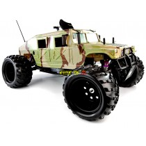 ShengQi V2 26CC 1/5th Petrol RC Monster Trucks - HUMMER 2.4Ghz